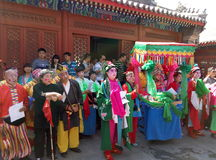 MiaoFeng Mountain folk festivals Stock Photography
