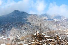 Miaofengshan des Peking-Porzellans Lizenzfreie Stockbilder