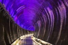 Miaoli Taiwan, GongWei Syria tunnel Royaltyfria Bilder