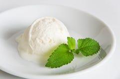 miarki kremowy lodowy vanila Fotografia Stock