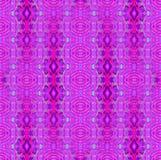 Miarowe elipsy i diamentu deseniowy magenta fiołkowy purpurowy seledyn pionowo Zdjęcia Royalty Free