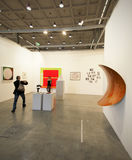 MiArt,现代和当代艺术的国际陈列 免版税图库摄影