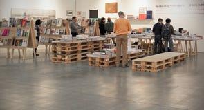 MiArt,现代和当代艺术的国际陈列 免版税库存图片