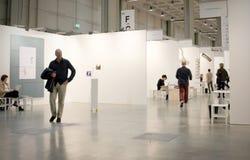 MiArt,现代和当代艺术的国际陈列 免版税库存照片