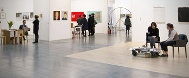 MiArt, International Exhibition of Modern and Contemporary Art Stock Photo