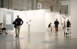 MiArt, International Exhibition of Modern and Contemporary Art Royalty Free Stock Photo