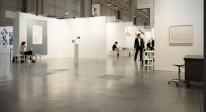 MiArt, International Exhibition of Modern and Contemporary Art Stock Image