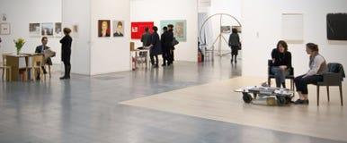 MiArt, internationell utställning av modernt och samtida konst Arkivfoto