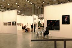 Miart Kunst jetzt 2011 Lizenzfreies Stockfoto