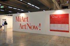 Miart Kunst jetzt 2011 Lizenzfreies Stockbild