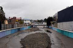 Miass River in Punta Arenas. Stock Photography