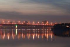 miast światła Zdjęcia Royalty Free