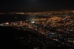 miast światła Zdjęcia Stock