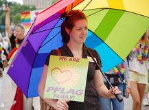 miast homoseksualnej parady dumy bliźniak Zdjęcie Stock