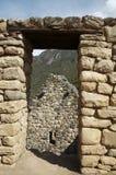 miast inków machu picchu Fotografia Stock