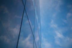 Miast okno nieba biurowy drapacz chmur Zdjęcia Royalty Free