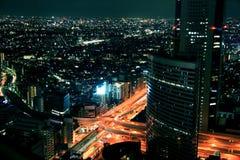 miast światła Fotografia Royalty Free