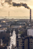Miasta †‹â€ ‹przemysł Zdjęcia Royalty Free