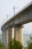 Miasta światła poręcz, wiadukt, Obraz Stock