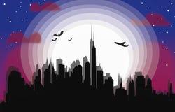 Miasta światło royalty ilustracja