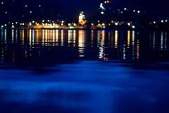 Miasta światło fotografia royalty free