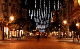 miasta świateł obrazy stock