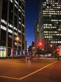 miasta świateł Zdjęcia Stock