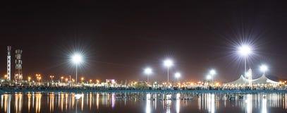 miasta świateł Zdjęcia Royalty Free