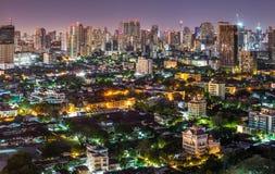 miasta świateł Obrazy Royalty Free