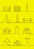 miasta światowi Zdjęcia Stock