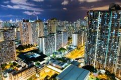 Miasta życie w Hong Kong Fotografia Royalty Free