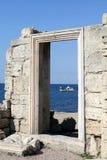 miasta antyczny drzwi Obraz Royalty Free