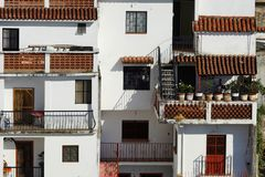 Miasta arhitecture szczegóły Taxco De Alarcon przy dniem Obraz Stock