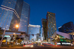 Miasta CenterLas Vegas bulwar zdjęcia stock