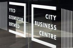 Miasta centrum biznesu Fotografia Royalty Free