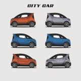Miasta colour ilustraci Samochodowy nowożytny wektor ilustracja wektor