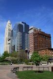 miasta Columbus linia horyzontu Fotografia Royalty Free