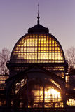 miasta cristal de Madrid palacio parka retiro Zdjęcie Royalty Free