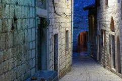 miasta Croatia rab Zdjęcia Stock