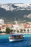 miasta Croatia rozłam Obraz Stock