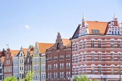 miasta Danzig sławny Gdansk Poland Obraz Royalty Free
