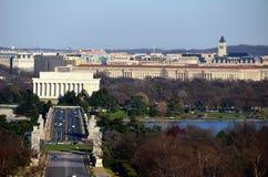 miasta dc ogólny widok Washington Obrazy Royalty Free