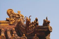 miasta dekoracja zakazujący dachy Obraz Royalty Free