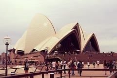 miasta domowy opery Sydney symbol Obrazy Royalty Free