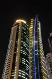 miasta Dubai drapacz chmur obrazy royalty free