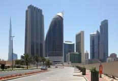 miasta Dubai ulica zdjęcie royalty free