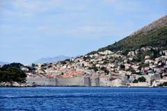 miasta Dubrovnik ściana obraz royalty free
