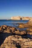 miasta Dubrovnik latarnia morska stara Zdjęcie Stock