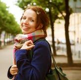 miasta dzień dziewczyny portreta lato Fotografia Royalty Free