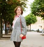 miasta dzień dziewczyny portreta lato Zdjęcie Royalty Free